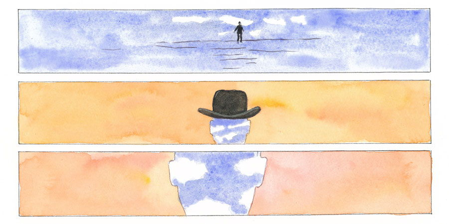 Magritte Graphic Novel