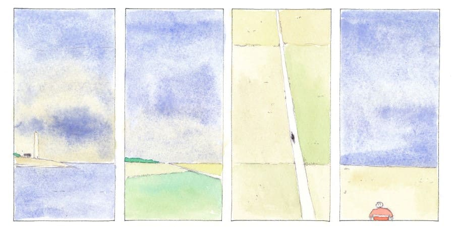 Strade Bianche Graphic Novel